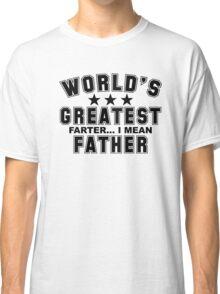 worlds greatest father Classic T-Shirt