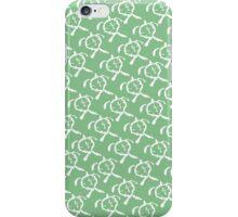 Honu (Green) iPhone Case/Skin
