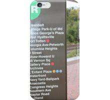 Greenbelt (Green Line) DMV Metro line iPhone Case/Skin