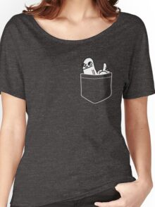 Pocket DickButt Women's Relaxed Fit T-Shirt