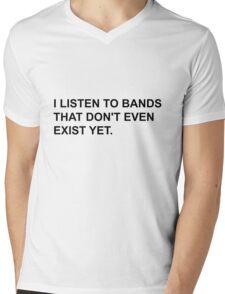 Bands Don't Exist Mens V-Neck T-Shirt