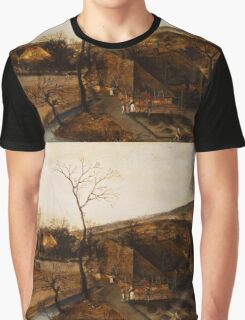 Jacob Grimmer - The Spring .Landscape  Graphic T-Shirt
