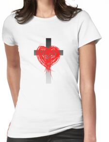 Christian Love Womens Fitted T-Shirt
