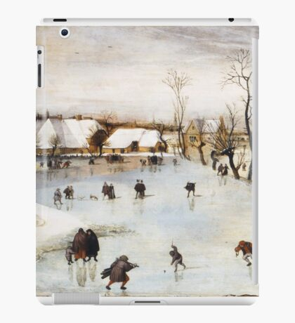 Jacob Grimmer - The Winter . Landscape  iPad Case/Skin