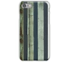Stripped Green Lines iPhone Case/Skin