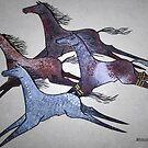 Spirit Horses by Moninne Hardie