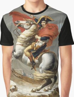 Jacques-Louis David - Bonaparte . The Emperor Napoleon , Napoleon, Fashion Portrait Graphic T-Shirt