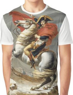 Jacques-Louis David - Bonaparte . The Emperor Napoleon , Napoleon, Fashion Portrait Graphic T-Shirt