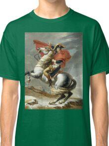 Jacques-Louis David - Bonaparte . The Emperor Napoleon , Napoleon, Fashion Portrait Classic T-Shirt