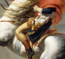 Jacques-Louis David - Bonaparte . The Emperor Napoleon , Napoleon, Fashion Portrait Sticker