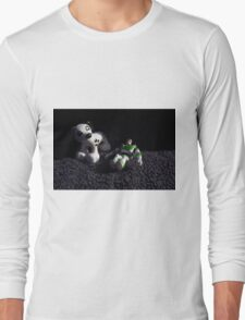 Man and His Best Friend Long Sleeve T-Shirt