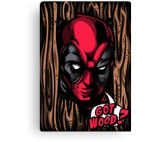 Got Wood? Canvas Print
