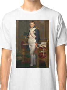 Jacques-Louis David - The Emperor Napoleon 1812 . Napoleon, Fashion Portrait Classic T-Shirt