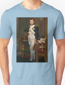 Jacques-Louis David - The Emperor Napoleon 1812 . Napoleon, Fashion Portrait Unisex T-Shirt