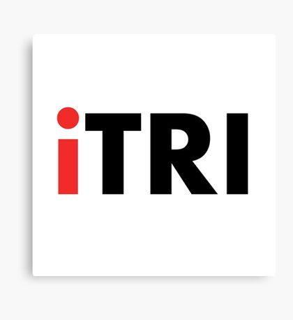 iTri Triathlon Canvas Print