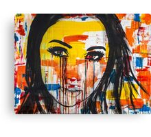 The unseen emotions of her innocence Canvas Print