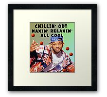 FRESH PRINCE - CHILLIN' OUT Framed Print