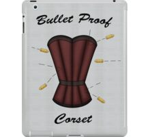 Bulletproof Corset iPad Case/Skin