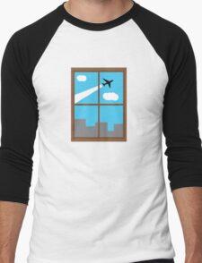 City Sight Men's Baseball ¾ T-Shirt