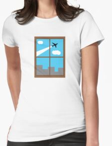 City Sight Womens Fitted T-Shirt
