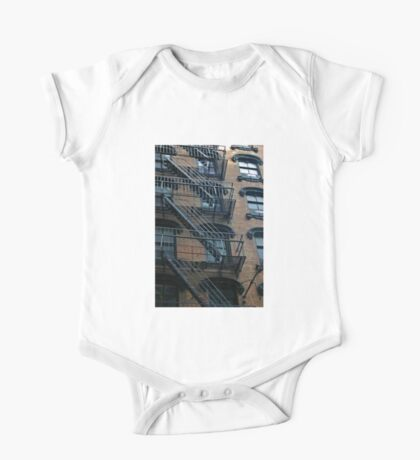 NYC - Fire Escape #32 One Piece - Short Sleeve