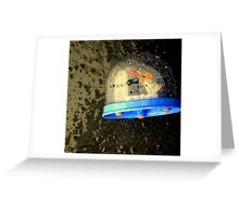 Snow Globe-al Warming Greeting Card