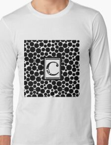 C Bubbles Long Sleeve T-Shirt