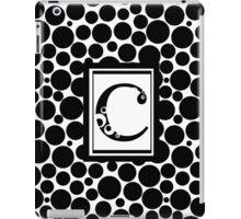 C Bubbles iPad Case/Skin