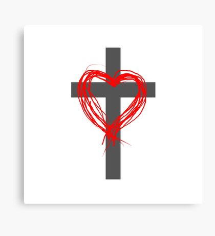 Christian Love, V Canvas Print