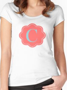 C Cloudy Women's Fitted Scoop T-Shirt