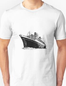 Ocean Liner Unisex T-Shirt