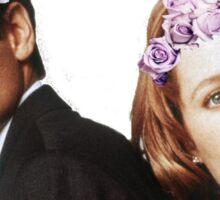 Scully & Mulder Sticker Sticker