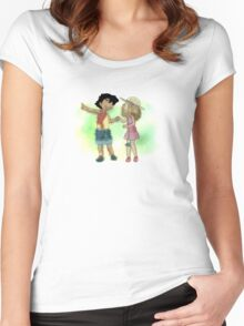 Young Amourshipping Women's Fitted Scoop T-Shirt