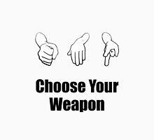 Rock Paper Scissors Weapon Unisex T-Shirt