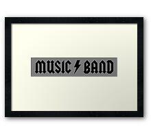 Music/Band Framed Print