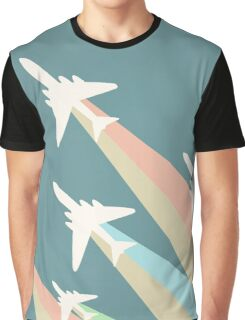 Airplanes Illustration Graphic T-Shirt