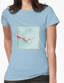 Live life in full bloom Womens Fitted T-Shirt
