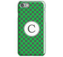 C Checkerboard II iPhone Case/Skin