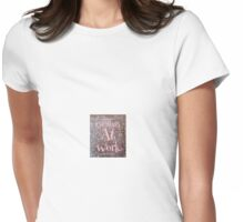 Genius at work Womens Fitted T-Shirt
