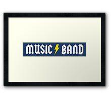 Music/Band (alternate) Framed Print