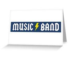 Music/Band (alternate) Greeting Card