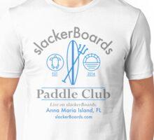 slackerBoards Paddle Club Unisex T-Shirt