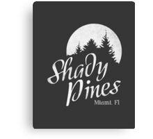 Golden Girls TV Show Fan Art - Shady Pines Canvas Print