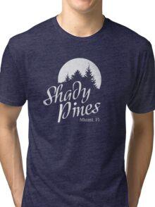 Golden Girls TV Show Fan Art - Shady Pines Tri-blend T-Shirt