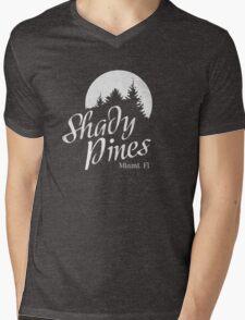 Golden Girls TV Show Fan Art - Shady Pines Mens V-Neck T-Shirt