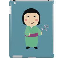 kokeshi doll iPad Case/Skin