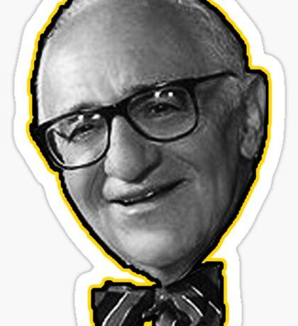 Murray Rothbard Anarcho-Capitalist Sticker