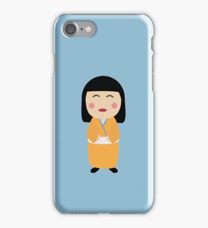 kokeshi doll iPhone Case/Skin