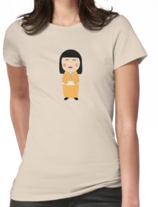kokeshi doll Womens Fitted T-Shirt