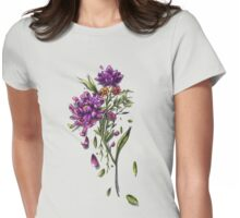 Flores. Womens Fitted T-Shirt